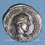 Coins Elagabale (218-222). Denier. Rome, 219. R/: la Providence debout à gauche