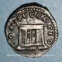 Coins Faustine jeune, épouse de Marc Aurèle († 175). Denier. Rome après 176. R/: autel