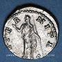 Coins Faustine mère, épouse d'Antonin le Pieux († 141). Denier. Rome, après 147. R/: Junon debout à gauche