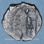 Coins Frappes barbares (vers 270-275). Antoninien. Buste radié de Tétricus II à dr. R/: personnification
