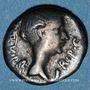 Coins Fulvie, 2e épouse de Marc Antoine († 40 av. J-C). Quinaire. Lyon, 42 av. J-C