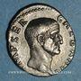 Coins Galba (68-69). Denier. Rome, 68. R/: SPQR / OB / CS dans une couronne de chêne