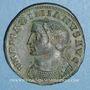 Coins Galère Maximien (305-311). Follis. Lyon, 305-307. R/: Génie