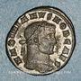 Coins Galère Maximien, césar (293-305). Follis. Carthage, 4e officine. 297. R/: l'Afrique