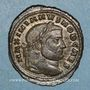Coins Galère Maximien, césar (293-305). Follis. Carthage, 4e officine. 298-303. R/: Carthage
