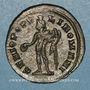 Coins Galère Maximien, césar (293-305). Follis. Londres, vers 303. R/: Génie