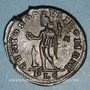 Coins Galère Maximien, césar (293-305). Follis. Lyon, 1ère officine, 302-304. R/: Génie
