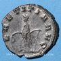 Coins Gallien (253-268). Antoninien. Milan, 262-263. R/: la Joie debout à g.