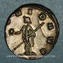 Coins Gallien (253-268). Antoninien. Milan, 266-267. R/: la Providence