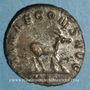 Coins Gallien (253-268). Antoninien. Rome, 11e officine, 267-268. R/: antilope