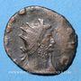 Coins Gallien (253-268). Antoninien. Rome, 253-255. R/: la Joie debout à gauche