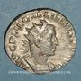 Coins Gallien (253-268). Antoninien. Rome, 255-257. R/: la Providence