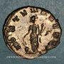 Coins Gallien (253-268). Antoninien. Rome, 262-263. R/: la Fortune