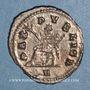 Coins Gallien (253-268). Antoninien. Rome, 5e officine. 262-263. R/: la Paix