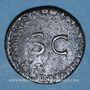 Coins Germanicus († 19). As frappé sous Caligula. Rome, 37-38 contremarqué sous Claude