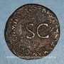 Coins Germanicus († 19). As frappé sous Caligula. Rome, 37-38