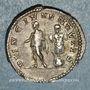 Coins Géta, césar sous Septime Sévère et Caracalla (198-209). Denier. Rome, 200. R/: Géta à gauche