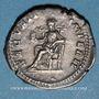 Coins Géta, césar sous Septime Sévère et Caracalla (198-209). Denier. Rome, 202. R/: la Sécurité. Inédit !