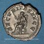 Coins Gordien I d'Afrique (238). Denier. Rome, 238. R/: la Sécurité assise à gauche, tenant un sceptre