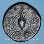 Coins Gordien III, césar (238). Sesterce. Rome, 238. R/: vase à sacrifice