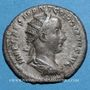 Coins Gordien III le Pieux (238-244). Antoninien. Rome, 238-239. R/: la Fidélité