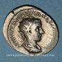 Coins Gordien III le Pieux (238-244). Antoninien. Rome, 239-240. R/: Gordien debout à gauche