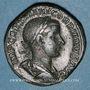 Coins Gordien III le Pieux (238-244). Sesterce. Rome, 239. R/: la Concorde assise à gauche