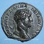 Coins Hadrien (117-138). As. Rome, 121-122. R/: la Paix