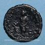 Coins Hadrien (117-138). As. Rome, 125-128. R/: la Santé
