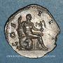 Coins Hadrien (117-138). Denier. Rome 126. R/: Hercule
