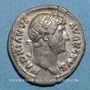 Coins Hadrien (117-138). Denier. Rome, 128. R/: astre sur un croissant