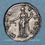 Coins Hadrien (117-138). Denier. Rome, 137. R/: la Monnaie