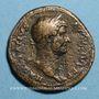 Coins Hadrien (117-138). Sesterce. Rome, 128. R/: l'Allégresse debout à gauche