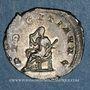 Coins Hérennia Etruscille, épouse de Trajan Dèce. Antoninien. Rome, 250. R/: la Pudeur