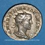 Coins Hérennius Etruscus, césar (250-251). Antoninien. Rome, 250-251. R/: aspersoir