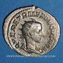 Coins Hérennius Etruscus, césar (250-251). Antoninien. Rome, 251. R/: Appolon assis à gauche