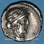 Coins Jules César (100-44 av. J-C). Denier. Grèce, (atelier itinérant), 48 av. J-C. R/: trophée