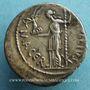 Coins Jules César (+44 av. J-C). Denier émis par Sépullius Macer, Rome, février-mars 44 av J-C