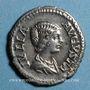 Coins Julia Domna, épouse de Septime Sévère († 217). Denier. Rome, 198. R/: Cybèle tourelée