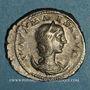 Coins Julia Maésa, grand-mère d'Elagabale († 226). Antoninien. Rome, 218-219. R/: la Piété