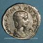 Coins Julia Maésa, grand-mère d'Elagabale († 226). Denier. Rome, 218-220. R/: Junon