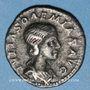 Coins Julia Soémias, mère d'Elagabale († 235). Denier. Rome, 220-222. R/: Vénus debout à gauche