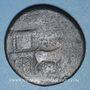 Coins Livie, épouse d'Auguste († 29 ap J-C). Sesterce. Rome, 22-23. Contremarqué : NCAPR