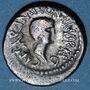 Coins Marc Antoine et Octave. Denier. Syrie(?), 41 av. J-C