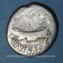Coins Marc Antoine (vers 83-30 av. J-C). Denier émis pour la 11e légion