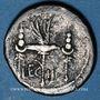 Coins Marc Antoine (vers 83-30 av. J-C). Denier émis pour la 2e légion, vers 32-31 av. J-C