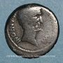 Coins Marc-Antoine (vers 83-30 av. J-C). Denier. Epire (?), 42. R/: temple