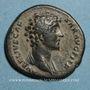Coins Marc Aurèle, césar sous Antonin (139-161). As. Rome, 147. R/ Minerve
