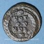Coins Maxence (306-312). 1/3 follis. Rome, 310-311. R/: VOT/ Q.Q./MVL/XX