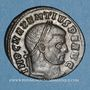 Coins Maxence (306-312). Follis. Rome, 2e officine,  310-311. R/:  Rome